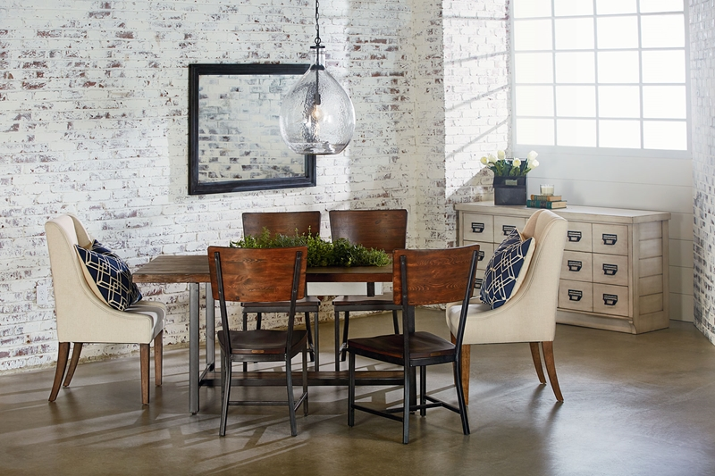 Find the right combination of table, chairs and storage for your personal style.