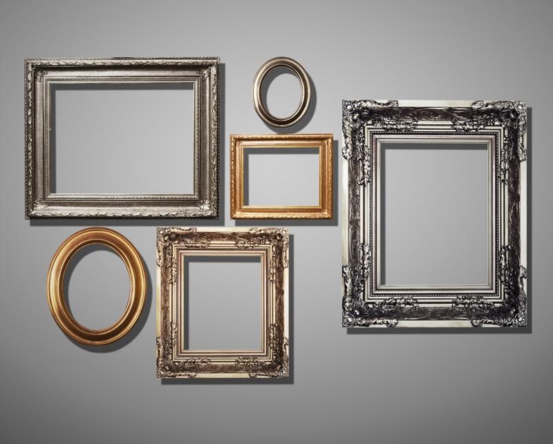 frames, gallery, gallery wall